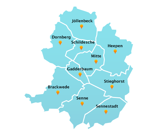 Touren Dachrinnenreinigung Bielefeld